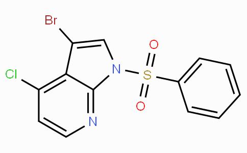 3-Bromo-4-chloro-1-(phenylsulfonyl)-1H-pyrrolo[2,3-b]pyridine