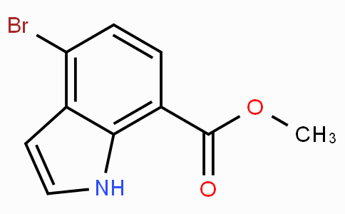 Methyl 4-bromo-1H-indole-7-carboxylate
