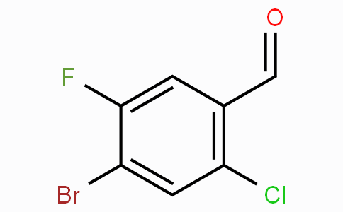 4-Bromo-2-chloro-5-fluorobenzaldehyde