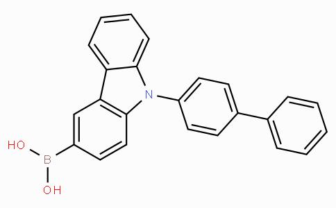 9-(Biphenyl-4-yl)-9H-carbazol-3-ylboronic acid