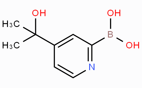 4-(2-Hydroxypropan-2-yl)pyridine-2-boronic acid
