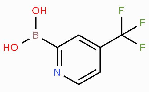 4-(Trifluoromethyl)pyridine-2-boronic acid