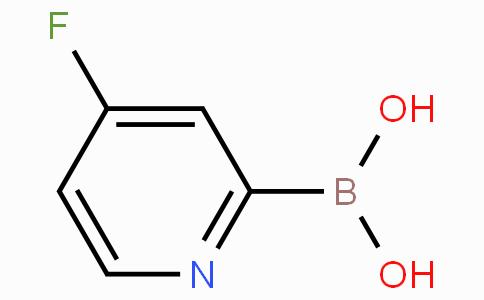 4-Fluoropyridine-2-boronicacid