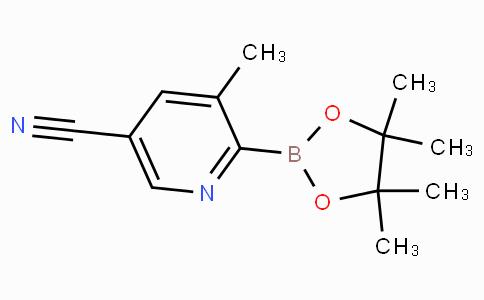 5-Cyano-3-methylpyridine-2-boronicacidpinacolester