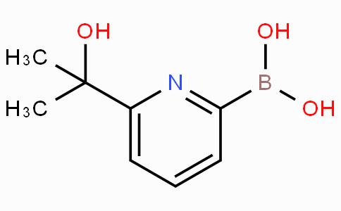 6-(2-Hydroxypropan-2-yl)pyridine-2-boronicacid
