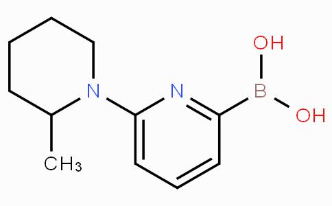 6-(2-Methylpiperidin-1-yl)pyridine-2-boronicacid