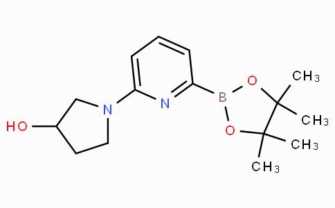 6-(3-Hydroxypyrrolidin-1-yl)pyridine-2-boronicacidpinacolester