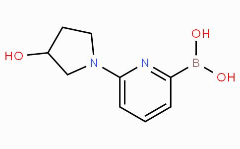 6-(3-Hydroxypyrrolidin-1-yl)pyridine-2-boronicacid