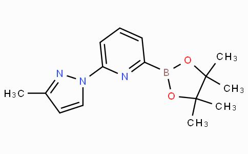 6-(3-Methyl-1H-pyrazol-1-yl)pyridine-2-boronicacidpinacolester