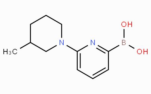 6-(3-Methylpiperidin-1-yl)pyridine-2-boronicacid