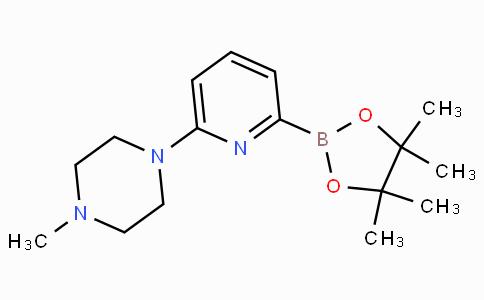 6-(4-Methylpiperazin-1-yl)pyridine-2-boronicacidpinacolester