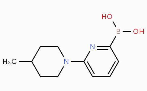 6-(4-Methylpiperidin-1-yl)pyridine-2-boronicacid