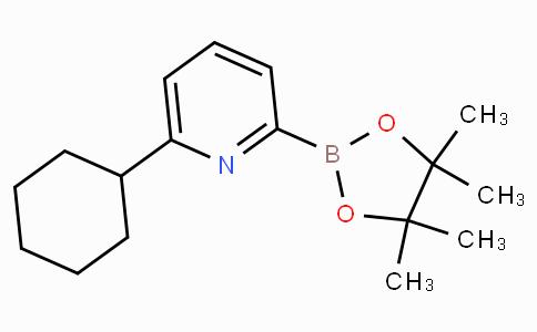 6-(Cyclohexyl)pyridine-2-boronicacidpinacolester