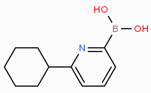 6-(Cyclohexyl)pyridine-2-boronicacid