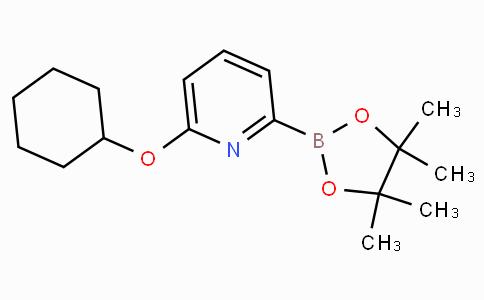 6-(Cyclohexyloxy)pyridine-2-boronicacidpinacolester