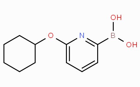 6-(Cyclohexyloxy)pyridine-2-boronicacid
