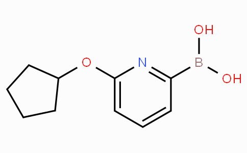 6-(Cyclopentoxy)pyridine-2-boronicacid