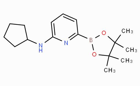 6-(Cyclopentylamino)pyridine-2-boronicacidpinacolester