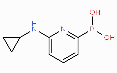 6-(Cyclopropylamino)pyridine-2-boronicacid