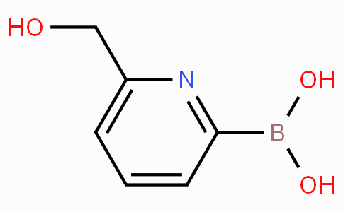 6-(Hydroxymethyl)pyridine-2-boronicacid
