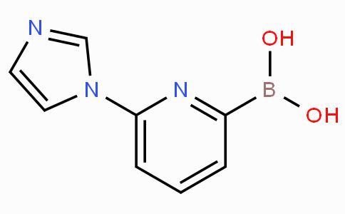 6-(Imidazol-1-yl)pyridine-2-boronicacid