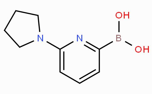 6-(Pyrrolidin-1-yl)pyridine-2-boronicacid