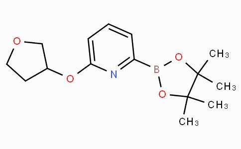 6-(Tetrahydro-furan-3-yloxy)pyridine-2-boronicacidpinacolester