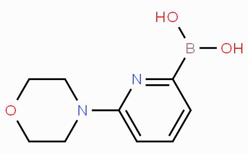 6-Morpholinopyridine-2-boronicacid