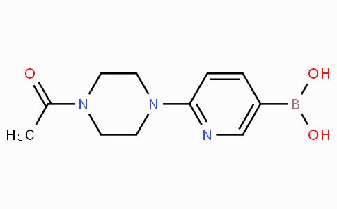 2-(4-Acetylpiperazin-1-yl)pyridine-5-boronicacid