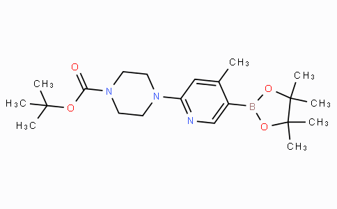 2-(4-Boc-piperazin-1-yl)-4-methylpyridine-5-boronicacidpinacolester