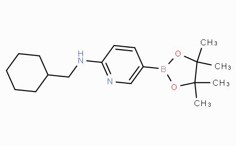 2-(Cyclohexylmethylamino)pyridine-5-boronicacidpinacolester