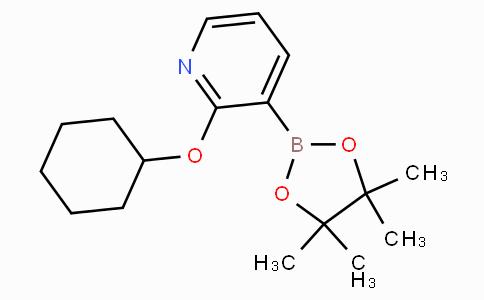 2-(环己氧基)-3-(4,4,5,5-四甲基-1,3,2-二杂氧戊硼烷-2-基)吡啶