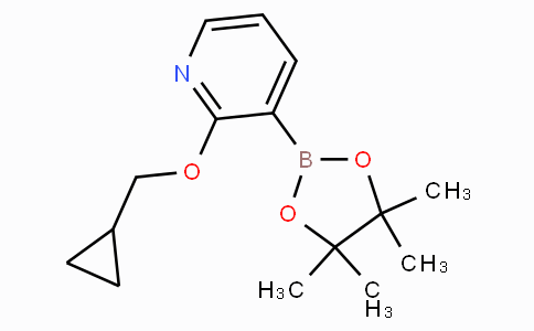2-(Cyclopropylmethoxy)pyridine-3-boronicacidpinacolester