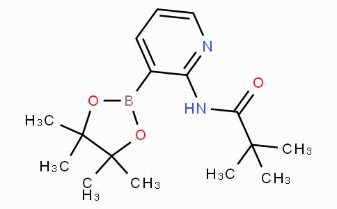 2-(特戊酰氨基)吡啶-3-硼酸频那酯