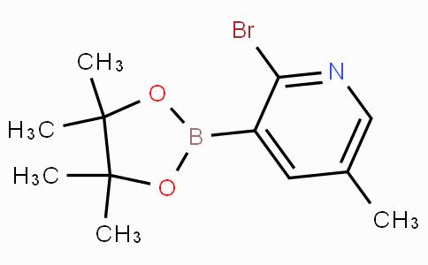 2-Bromo-5-methylpyridine-3-boronicacidpinacolester