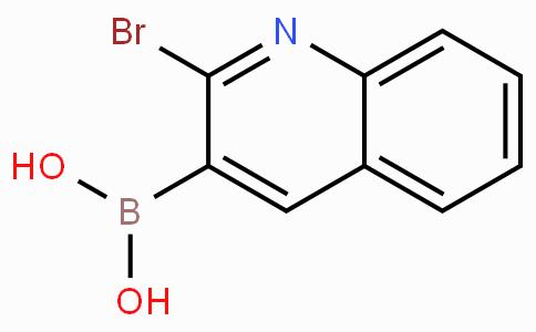 2-溴喹啉-3-硼酸