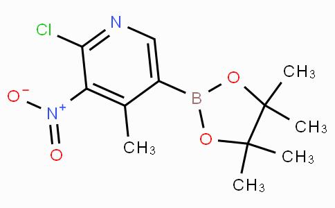 2-Chloro-4-methyl-3-nitropyridine-5-boronicacidpinacolester