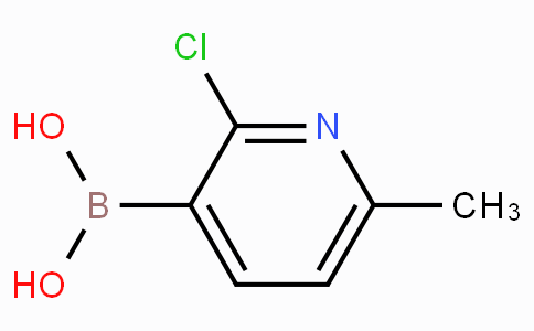 2-Chloro-6-methylpyridine-3-boronicacid