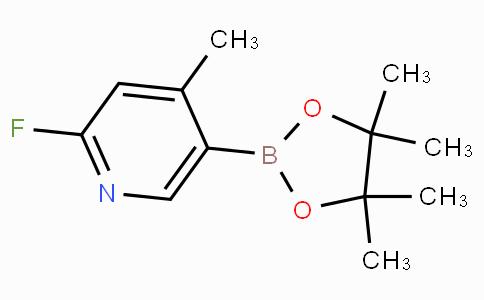 2-Fluoro-4-methylpyridine-5-boronicacidpinacolester