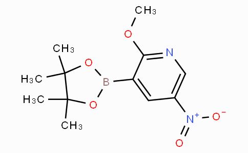 2-Methoxy-5-nitropyridine-3-boronicacidpinacolester