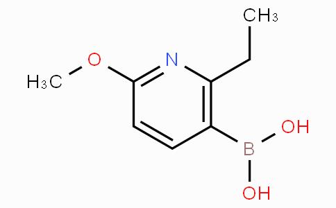 2-Methoxy-6-ethylpyridine-5-boronicacid