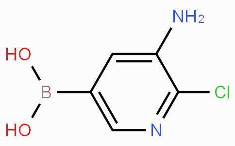 3-Amino-2-chloropyridine-5-boronicacid