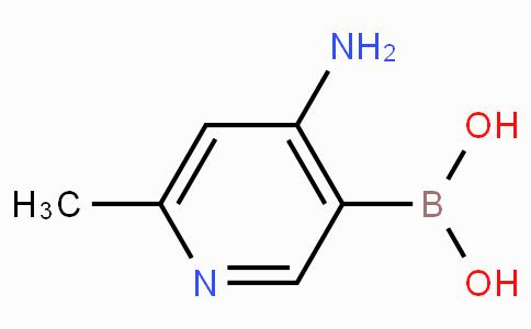 4-Amino-6-Methylpyridine-3-boronicacid