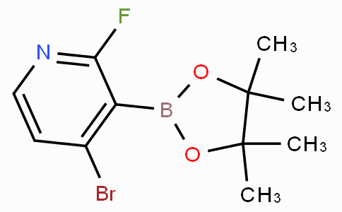 4-Bromo-2-fluoropyridine-3-boronicacidpinacolester