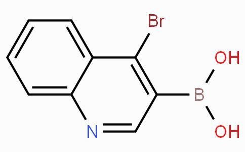 4-Bromoquinoline-3-boronicacid