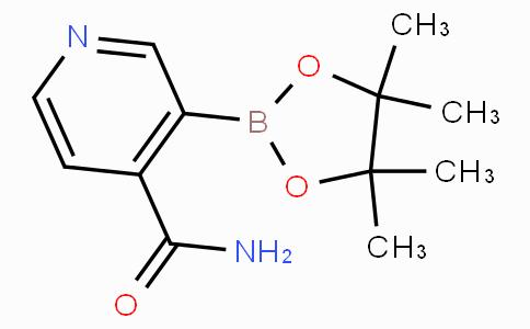 4-Carbamoylpyridine-3-boronicacidpinacolester