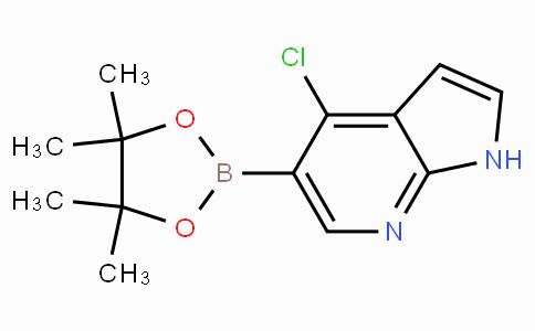 4-Chloro-1H-pyrrolo[2,3-B]pyridine-5-boronicacidpinacolester