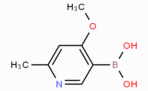 4-Methoxy-6-methylpyridine-3-boronicacid
