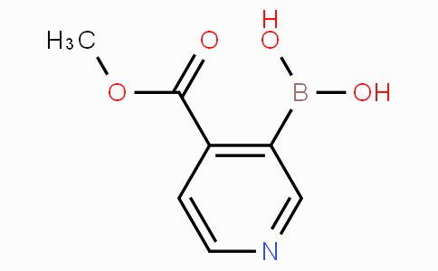 4-Methoxycarbonylpyridine-3-boronicacid