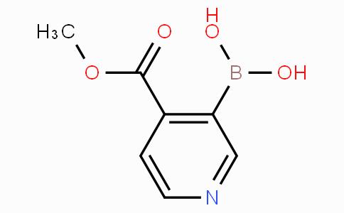 4-Methoxycarbonylpyridine-3-boronicacid